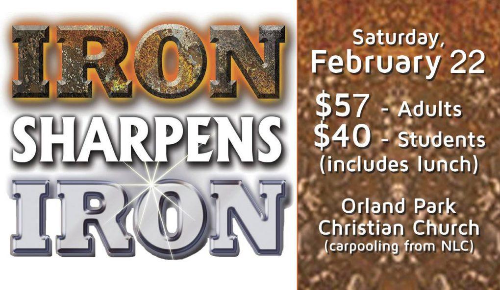 Iron Sharpens Iron Men's Conference