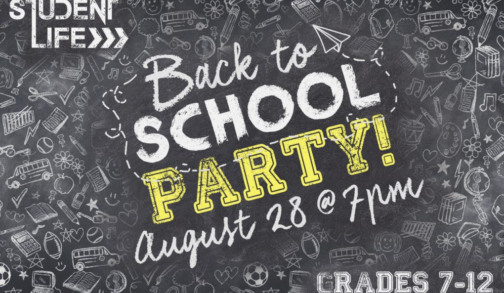 Student Life Back to School Party