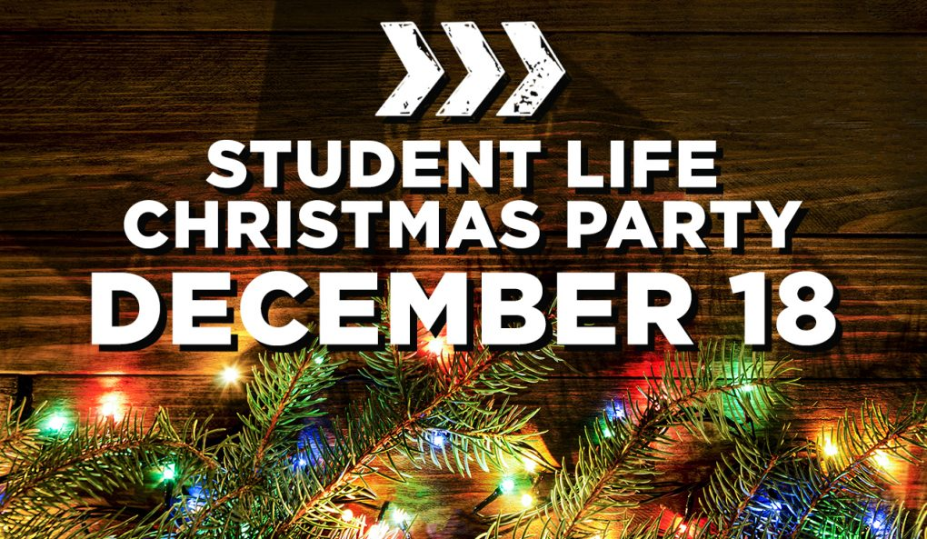 Student Life Christmas Party