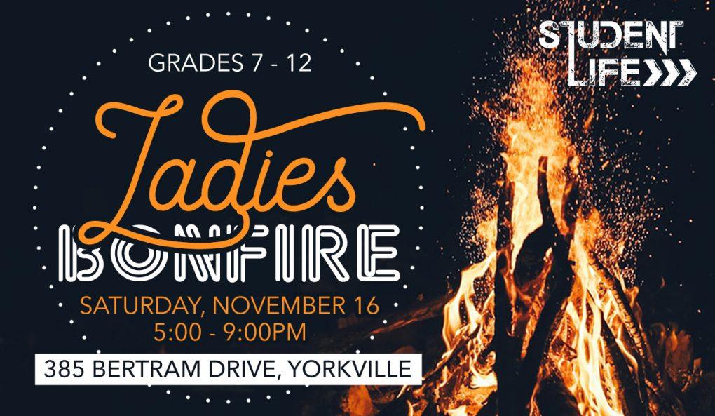 Student Life Ladies Bonfire