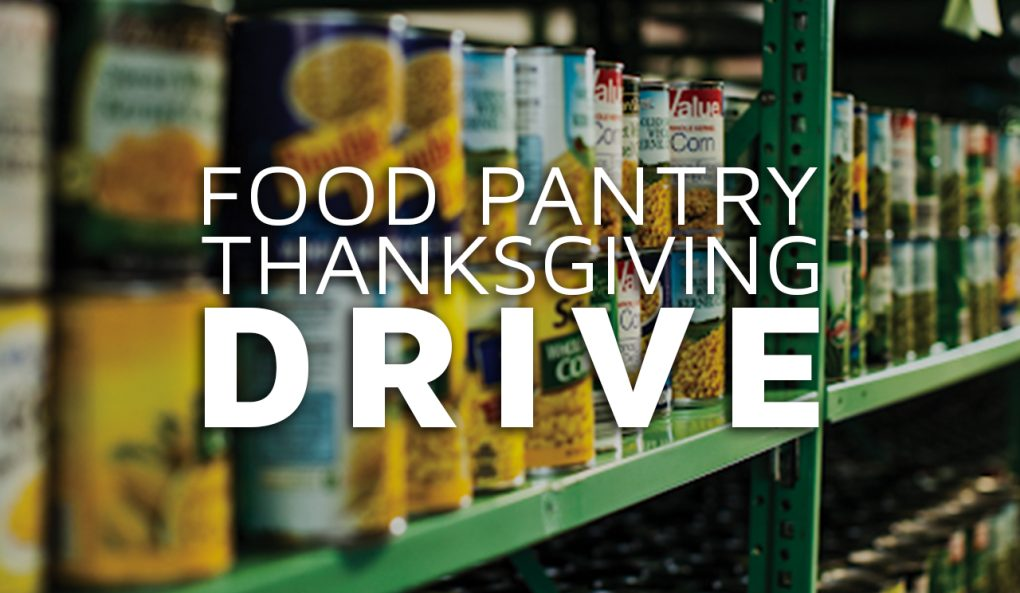 Food Pantry Thanksgiving Drive