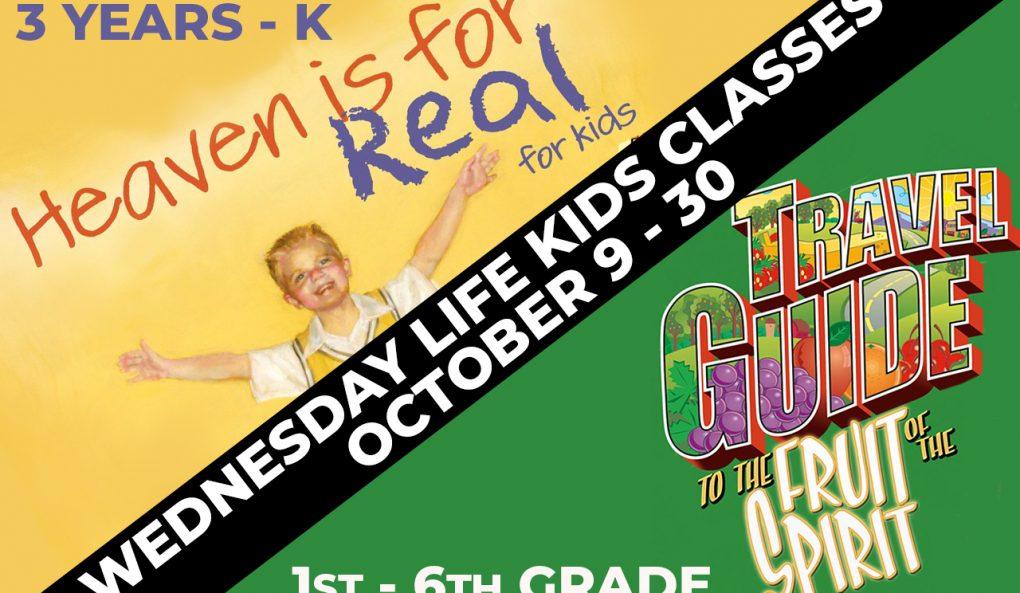 Wednesday Life Kids Classes
