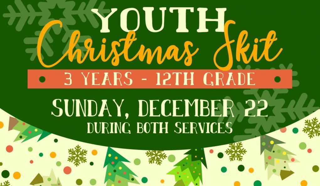 Youth Christmas Skit