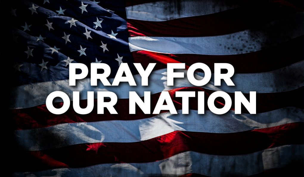Pray for Our Nation – 1/18