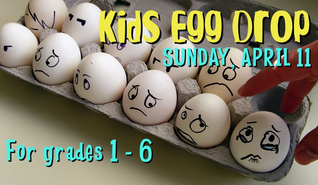 Kids Egg Drop
