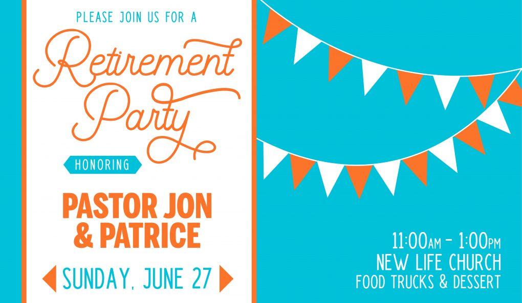 Pastor Jon & Patrice's Retirement Party