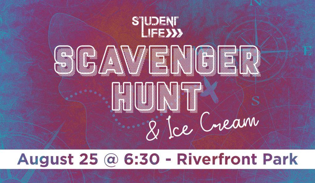 Student Life Scavenger Hunt & Ice Cream